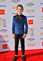 LOS ANGELES, CA. March 30, 2019: Parker Bates at the 50th NAACP Image Awards.<br /> Picture: Paul Smith/Featureflash