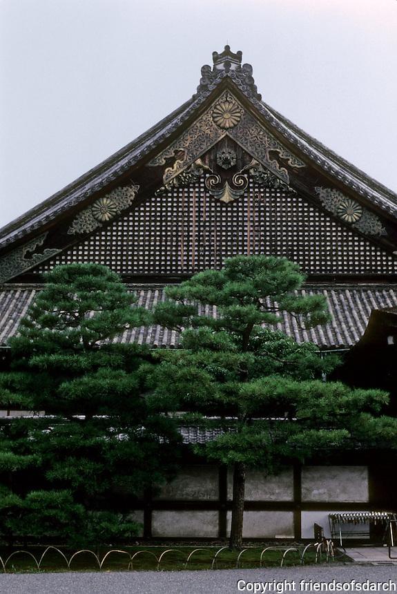 Kyoto: Ninomaru Palace, Nijo Castle, 1603. Photo '81.