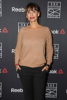MATHILDA MAY - SOIREE D'INAUGURATION DE LA SALLE DE SPORT BY REEBOK A PARIS, FRANCE, LE 16/11/2017.