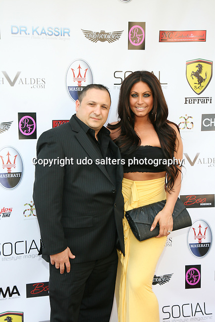Guest and Jerseylicious' Tracy DiMarco Attend Metropolitan Bikini Fashion Weekend 2013 Held at BOA Sponsored by Social Magazine, Maserati and Ferrari, Hoboken NJ