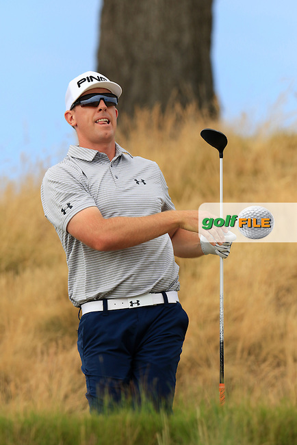 Hunter MAHAN (USA) tees off the 16th tee during Thursday's Round 1 of the 2015 U.S. Open 115th National Championship held at Chambers Bay, Seattle, Washington, USA. 6/19/2015.<br /> Picture: Golffile | Eoin Clarke<br /> <br /> <br /> <br /> <br /> All photo usage must carry mandatory copyright credit (&copy; Golffile | Eoin Clarke)