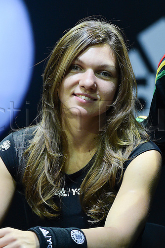 21.05.2015. Hôtel Salomon de Rothschild , Paris, France. Adidas launch of new clothing for the upcoming Roland Garros tennis tournament.  Simona Halep