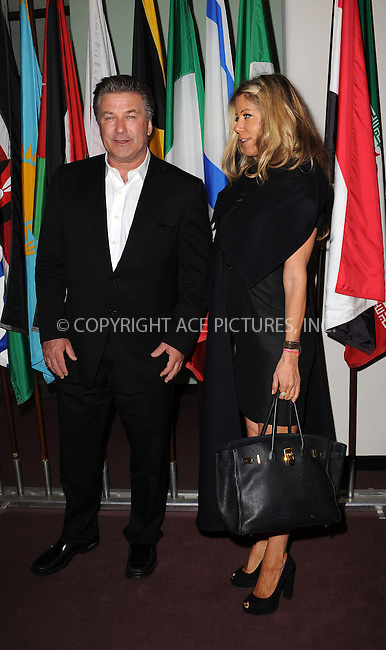 WWW.ACEPIXS.COM . . . . . ....May 12 2009, New York City....Actor Alec Baldwin and producer Marcy Klein at the 'Welcome to Gulu' exhibition opening event at the United Nations on May 12, 2009 in New York City.....Please byline: KRISTIN CALLAHAN - ACEPIXS.COM.. . . . . . ..Ace Pictures, Inc:  ..tel: (212) 243 8787 or (646) 769 0430..e-mail: info@acepixs.com..web: http://www.acepixs.com