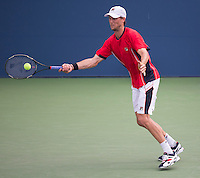Andreas Seppi<br /> Tennis - US Open  - Grand Slam -  Flushing Meadows  2013 -  New York - USA - United States of America - Sunday 1st September 2013. <br /> &copy; AMN Images, 8 Cedar Court, Somerset Road, London, SW19 5HU<br /> Tel - +44 7843383012<br /> mfrey@advantagemedianet.com<br /> www.amnimages.photoshelter.com<br /> www.advantagemedianet.com<br /> www.tennishead.net