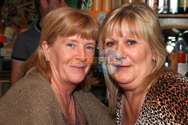 Rita Donnelly and Anne Pentony enjoying themselves night in The Mariner..Picture: Shane Maguire / www.newsfile.ie.