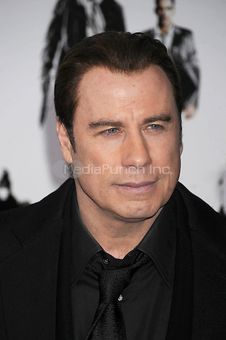 John Travolta attends the 'From Paris With Love' premiere at the Ziegfeld Theatre  in New York City. January 28, 2010. Credit: Dennis Van Tine/MediaPunch