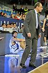 MADRID, Spain (19/01/11). Euroliga de baloncesto. Partido 1 del top 16, grupo G. Euroleague Basketball, Game 1 Top 16, Group G. Real Madrid vs Partizan MT:S..Sergio Llull, Ettore Messina...©Raul Perez .