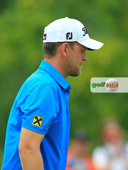 Bernd Wiesberger (AUT) on the 5th green during Round 4 of the 2016 KLM Open at the Dutch Golf Club at Spijk in The Netherlands on  Sunday 11/09/16.<br /> Picture: Thos Caffrey | Golffile
