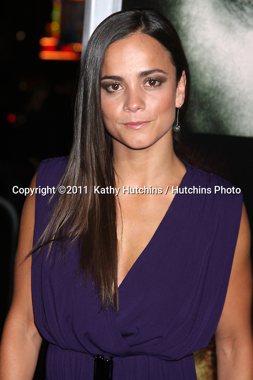 """LOS ANGELES - JAN 26:  Alice Braga arrives at """"The Rite"""" Premiere at Grauman's Chinese Theater on January 26, 2011 in Los Angeles, CA"""