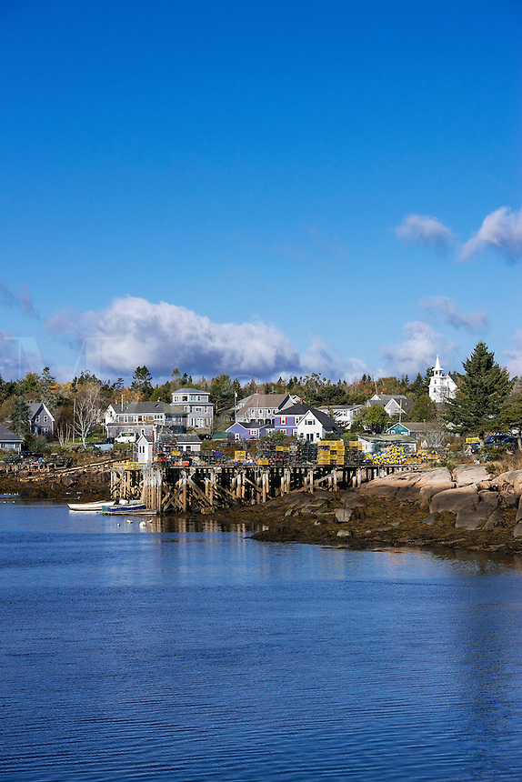 Quaint fishing village, Corea, Maine