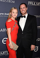 CULVER CITY, CA - NOVEMBER 11: Actress/model Devon Aoki (L) and James Bailey attend the 2017 Baby2Baby Gala at 3Labs on November 11, 2017 in Culver City, California.<br /> CAP/ROT/TM<br /> &copy;TM/ROT/Capital Pictures