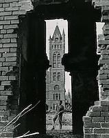 1958 Spring..Redevelopment.....Fox Lane..Clifton Guthrie.NEG#.NRHA# 959-D..