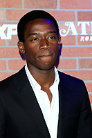 "LOS ANGELES - FEB 19:  Damson Idris at the ""tlanta Robbin"" LA Premiere Screening at the Theatre at Ace Hotel on February 19, 2018 in Los Angeles, CA"