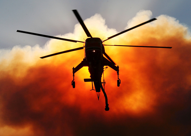 Magic' Fire Hits Stevenson Ranch | Krista Kennell Photography