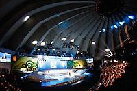 SAO PAULO, SP, 01 DE DEZEMBRO - SORTEIO CHAVE COPA DAS CONFEDERACOES Sorteio dos grupos para Copa das Confederaçoes 2013 no Anhembi Park regiao norte da capital paulista.  FOTO: VANESSA CARVALHO - BRAZIL PHOTO PRESS.