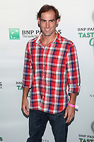 Tennis player Robby Ginepri attends the 13th Annual 'BNP Paribas Taste of Tennis' at the W New York.  New York City, August 23, 2012. &copy;&nbsp;Diego Corredor/MediaPunch Inc. /NortePhoto.com<br />