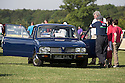 26/07/14 <br /> <br /> Triumph Dolomite.<br /> <br /> Princess Diana's Mini Metro was the star of the show at the first ever Festival of the Unexceptional.<br /> <br /> The car show held near Silverstone celebrated the best examples of the most ordinary cars of late 1960s to mid-1980s Britain.<br /> <br /> Organisers, Hagerty Insurance, said: &quot;Let&rsquo;s celebrate, preserve and enjoy these threatened and endangered pieces of our beige, brown and plaid automotive heritage.<br /> <br />  &quot;There are twice as many Ferraris on the road in the UK than Austin Allegros! We&rsquo;ve brought together the 50 best examples of a wide range of models - an award of dubious value will go to the overall winner.&quot;<br /> <br /> Princess Diana's red 1980 Mini Metro L was photographed many times while she was dating Prince Charles and was affectionately known as the 'courting car'. It has had three owners since it left the Royal fleet, and has clocked-up a very modest 30,000 miles. <br /> <br /> <br /> All Rights Reserved - F Stop Press.  www.fstoppress.com. Tel: +44 (0)1335 300098