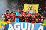 Independiente Medellín igualó como local 1-1 ante Junior. Final ida Copa Águila 2017.