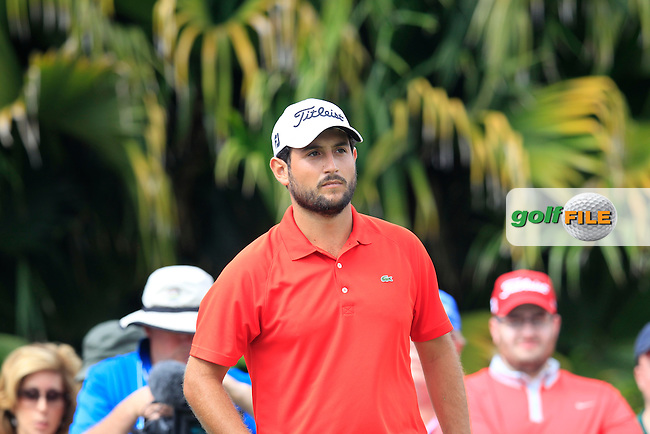 Alexander Levy (FRA) during the 3rd round at the WGC Cadillac Championship, Blue Monster, Trump National Doral, Doral, Florida, USA<br /> Picture: Fran Caffrey / Golffile