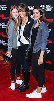 ANAHEIM, CA - JUNE 22: Delilah Belle Hamlin, Lisa Rinna and Amelia Gray Hamlin attend The World Premiere of Disney/Jerry Bruckheimer Films' 'The Lone Ranger' at Disney California Adventure Park on June 22, 2013 in Anaheim, California. (Photo by Celebrity Monitor)