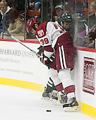Brian Hart (Harvard - 39), Andy Simpson (Dartmouth - 24) - The Harvard University Crimson tied the visiting Dartmouth College Big Green 3-3 in both team's first game of the season on Saturday, November 1, 2014, at Bright-Landry Hockey Center in Cambridge, Massachusets.