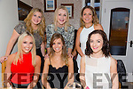 Celebrating her 24th birthday with friends on Saturday night at Bella Bia was Aoife O'Reilly from Cavan with all her pals from Tralee.Pictured front l-r Ashling Switzer,Aoife O'Reilly (birthday girl),Maeve Brosnan,Marie O'Connell,Katie O'Donnell and Molly O'Donnell