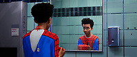 SPIDER-MAN: INTO THE SPIDER-VERSE (anim., 2018)<br /> Miles Morales (Shameik Moore)<br /> *Filmstill - Editorial Use Only*<br /> CAP/FB<br /> Image supplied by Capital Pictures