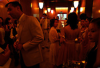 Evian Spa Event.  They are merging with another spa and this is a cocktail party to celebrate.  Contact for Evian is Amanda Teng (ateng@on-the-bund.com phone is +86 21 6321 6622)