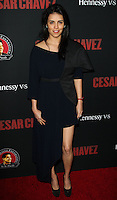 "HOLLYWOOD, LOS ANGELES, CA, USA - MARCH 20: Olga Segura at the Los Angeles Premiere Of Pantelion Films And Participant Media's ""Cesar Chavez"" held at TCL Chinese Theatre on March 20, 2014 in Hollywood, Los Angeles, California, United States. (Photo by Celebrity Monitor)"