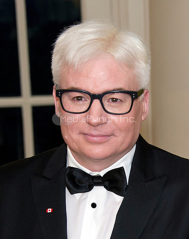 Actor Mike Myers arrives for the State Dinner in honor of Prime Minister Trudeau and Mrs. Sophie Gr&Egrave;goire Trudeau of Canada at the White House in Washington, DC on Thursday, March 10, 2016.<br /> Credit: Ron Sachs / Pool via CNP/MediaPunch