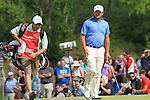 A very happy Graeme McDowell on the 18th green on the final day of the Celtic Manor Wales Open 2010.Picture Fran Caffrey/Newsfile.ie