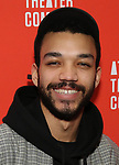 Justice Smith during the Opening Night after party for Atlantic Theater Company's 'The Mother' at The Gallery at the Dream Downtown on March 11, 2019 in New York City.