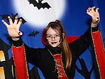 Holly Thornton enjoying the Halloween fun in Scotch Hall. Photo:Colin Bell/pressphotos.ie