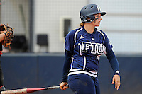 11 February 2012:  FIU's Shelby Graves (6) bats as the University of Louisville Cardinals defeated the FIU Golden Panthers, 4-2, as part of the COMBAT Classic at the FIU Softball Complex in Miami, Florida.