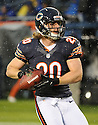 CRAIG STELTZ (20), of the Chicago Bears, in action during the Bears preseason game against the Denver Broncos on August 9, 2012 at Soldier Field in Chicago, IL. The Broncos beat the Bears 31-3.