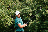 Brooks Koepka (USA) tees off on the 9th hole during the final round of the 100th PGA Championship at Bellerive Country Club, St. Louis, Missouri, USA. 8/12/2018.<br /> Picture: Golffile.ie | Brian Spurlock<br /> <br /> All photo usage must carry mandatory copyright credit (&copy; Golffile | Brian Spurlock)