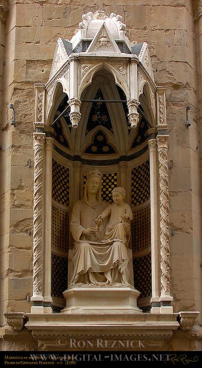 Madonna of the Rose Tedesco Orsanmichele Florence
