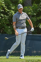 Rory McIlroy (NIR) reacts to his tee shot on 9 during 3rd round of the 100th PGA Championship at Bellerive Country Club, St. Louis, Missouri. 8/11/2018.<br /> Picture: Golffile | Ken Murray<br /> <br /> All photo usage must carry mandatory copyright credit (&copy; Golffile | Ken Murray)