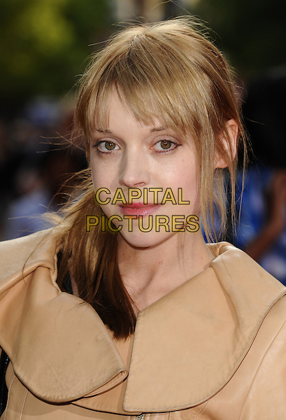 LONDON, ENGLAND - MAY 25: Antonia Campbell Hughes  arrives at the World Premiere of '4.3.2.1' in London's Leicester Square on May 25, 2010, London, England.<br /> CAP/CK<br /> &copy;CK/Capital Pictures