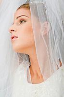 Bridal photographs of Lauren Wells, by Korey Akinbami,for Laytona Beckum - Makemeover