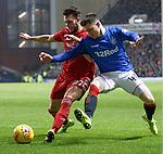 05.12.2018 Rangers v Aberdeen: Connor McLennan and Glenn Middleton
