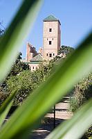 Afrique/Afrique du Nord/Maroc/Rabat: Musée des Oudaïas dans le jardin des Oudaïas dans la kasbah des Oudaïas