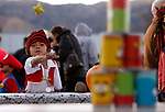 Carlos Llamas, 6, plays a game at the Carson City Boo-nanza event, in Carson City, Nev., on Tuesday, Oct. 30, 2018. <br /> Photo by Cathleen Allison/Nevada Momentum