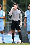 15 August 2014: North Carolina's Brendan Moore. The University of North Carolina Tar Heels hosted the Gardner-Webb University Bulldogs at Fetzer Field in Chapel Hill, NC in a 2014 NCAA Division I Men's Soccer preseason match. North Carolina won the exhibition 7-0.