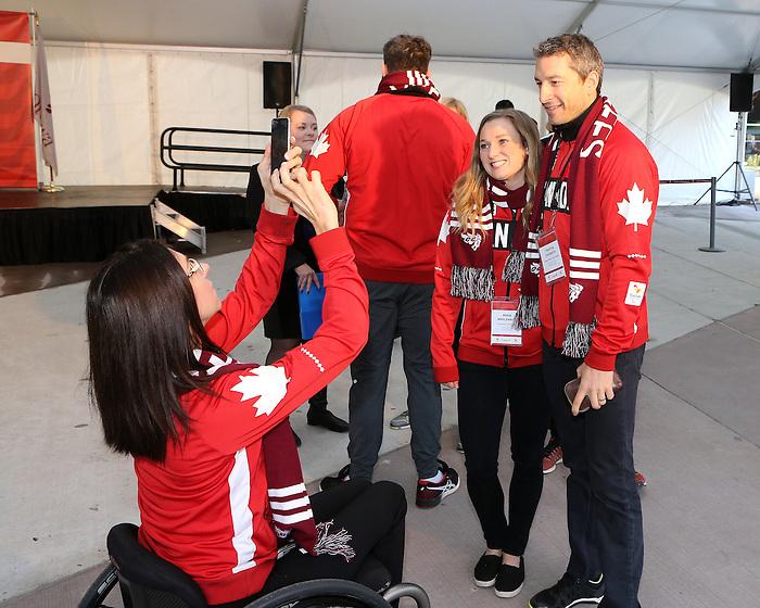 Team Canada Rio 2016 Celebration<br /> November 2, 2016<br /> <br /> PHOTO: Greg Kolz/COC