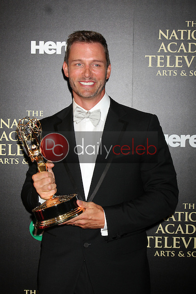 LOS ANGELES - JUN 22:  Eric Martsolf at the 2014 Daytime Emmy Awards Press Room at the Beverly Hilton Hotel on June 22, 2014 in Beverly Hills, CA