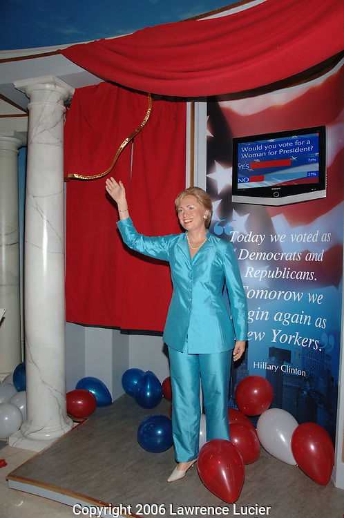 Haillry Clinton's wax figure