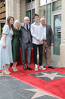 LOS ANGELES - MAY 7:  Suzanne Arkin, Alan Arkin, Matthew Arkin, family at the Alan Arkin Star Ceremony on the Hollywood Walk of Fame on May 7, 2019 in Los Angeles, CA