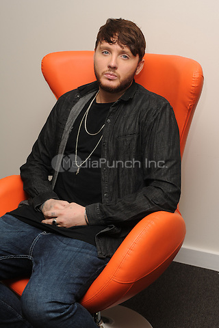 HOLLYWOOD, FL - JANUARY 27: James Arthur poses for a portrait at radio station 97.3 Hits on January 27, 2017 in Hollywood, Florida.  Credit: mpi04/MediaPunch