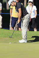 Jorge Campillo (ESP) putts onto the 10th green during Thursday's Round 1 of the 2018 Turkish Airlines Open hosted by Regnum Carya Golf &amp; Spa Resort, Antalya, Turkey. 1st November 2018.<br /> Picture: Eoin Clarke | Golffile<br /> <br /> <br /> All photos usage must carry mandatory copyright credit (&copy; Golffile | Eoin Clarke)